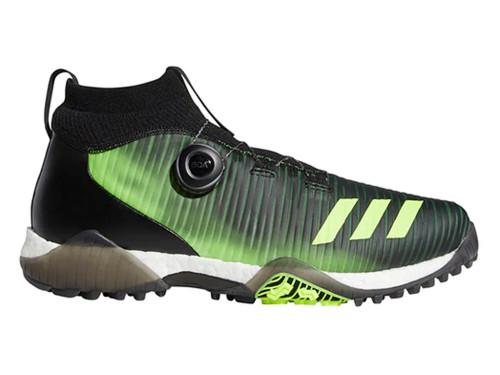 Adidas Codechaos BOA Golf Shoes - Core Black/Signal Green/FTWR White