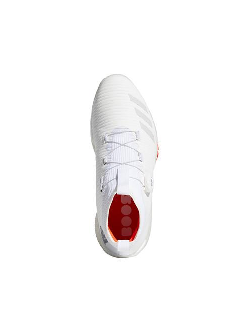 Adidas Codechaos BOA Golf Shoes - FTWR White/Grey One/Solar Red