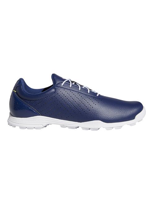 Adidas W Adipure SC Golf Shoes - Tech Indigo/Silver Met./FTWR White
