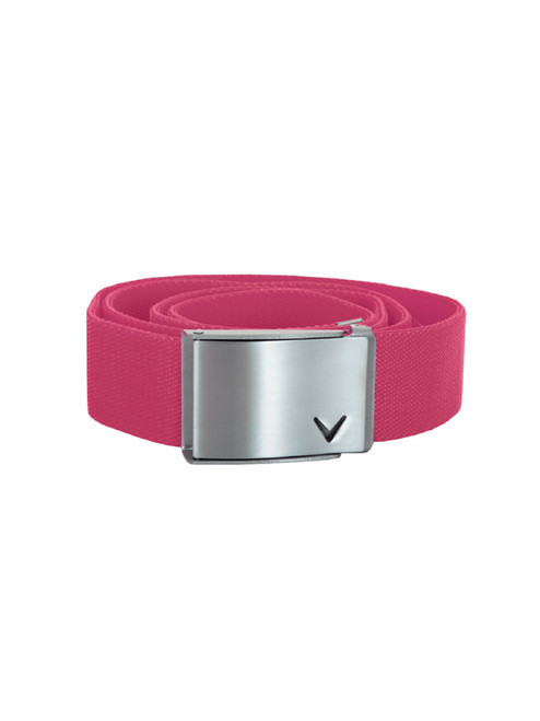 Callaway Stretch Web Belt - Sachet Pink