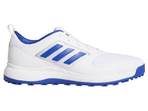 Adidas CP Traxion SL Mesh Golf Shoes - Cloud White/Team Royal Blue