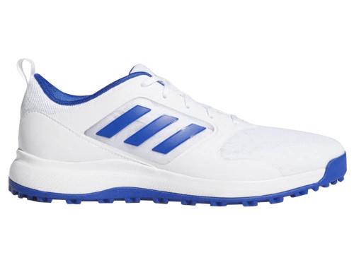 Adidas CP Traxion SL Mesh Golf Shoes - Cloud White/Team Royal Blue