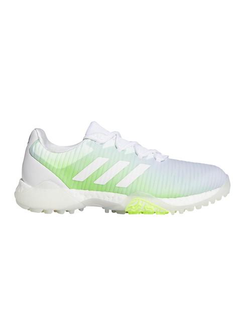 Adidas W Codechaos Golf Shoes - FTWR White/Signal Green