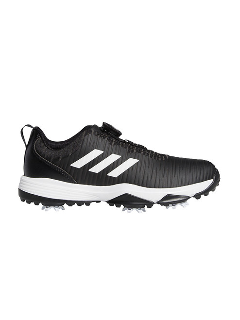 Adidas JR Codechaos BOA Golf Shoes - Core Black/FTWR White/Solar Red