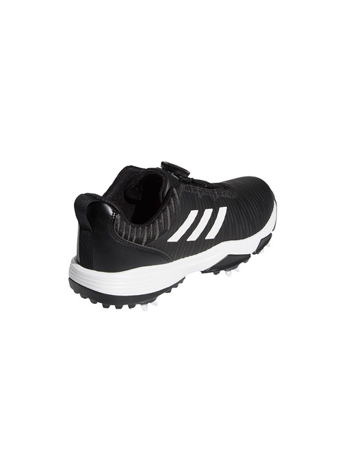 Adidas JR Codechaos BOA Golf Shoes - Core Black/FTWR White/Solar Red