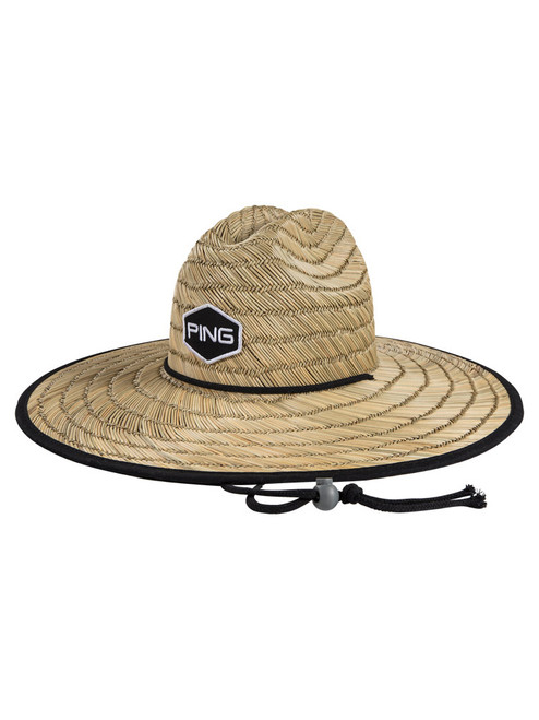 Ping The Greenskeeper Hat - Straw