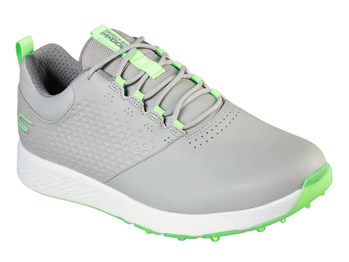 Skechers Go Golf Elite 4 Golf Shoes - Grey/Lime