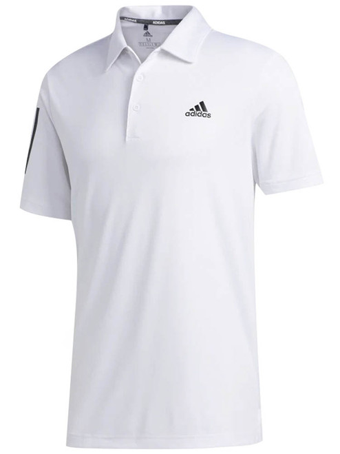 Adidas 3-Stripe Basic Polo - White/Black