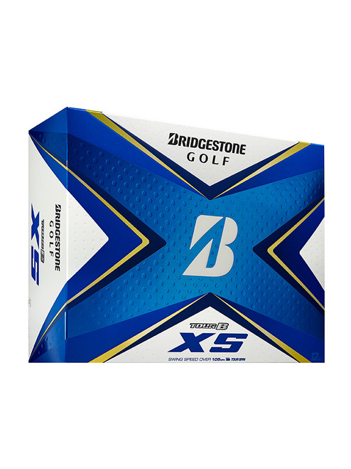 Bridgestone Tour B XS Golf Balls - 2020 1 Dozen White