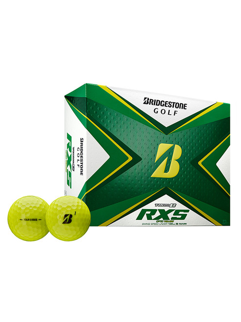 Bridgestone Tour B RXS Golf Balls - 2020 1 Dozen Yellow