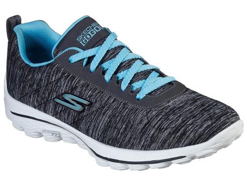 Skechers W Go Golf Go Walk Sport Golf Shoes - Black/Blue