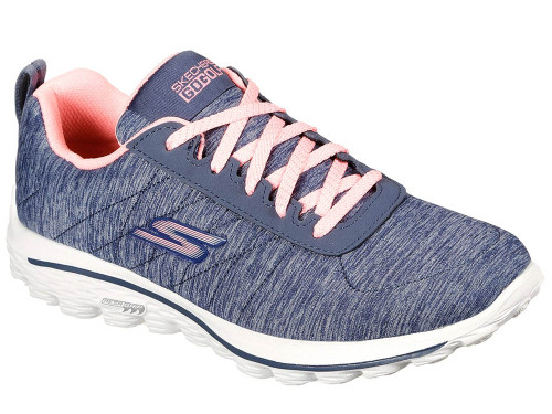 Skechers W Go Golf Go Walk Sport Golf Shoes - Navy/Pink