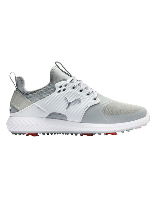Puma IGNITE PWRADAPT Caged WIDE Golf Shoes - Grey Violet/Silver/Peacoat