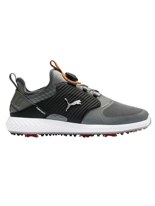 Puma IGNITE PWRADAPT Caged DISC Golf Shoes - Quite Shade/Bronze/Black