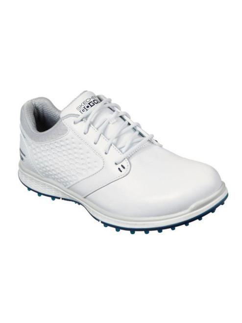 Skechers W Go Golf Elite 3 Deluxe Golf Shoes - White/Navy