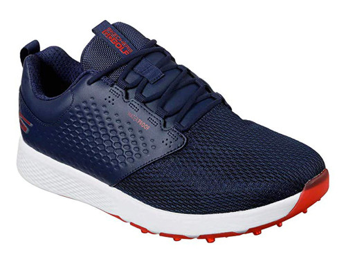 Skechers Go Golf Elite 4 Prestige Golf Shoes - Navy/Red