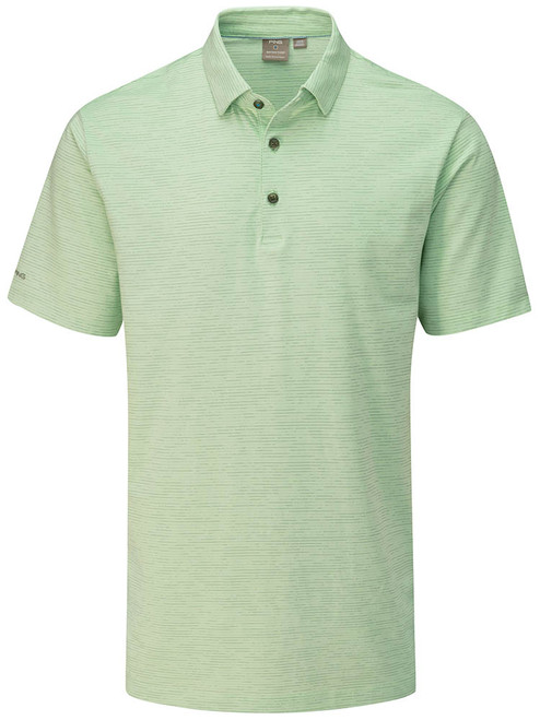 Ping Raymond Tailored Fit Polo - Mint Multi