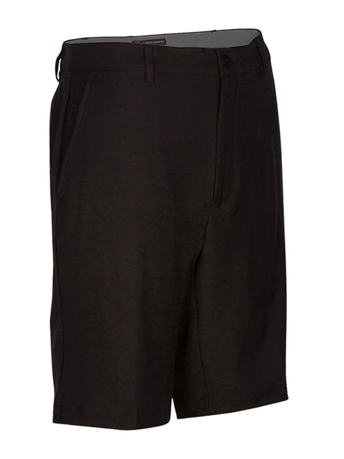 Greg Norman Woven 4-Way Stretch Short - Black
