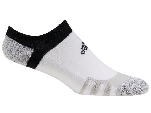 Adidas Climacool Tour360 No-Show Socks - White