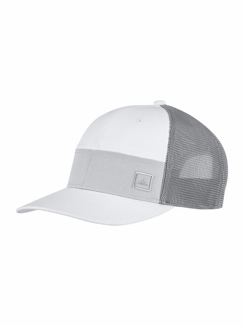 Adidas Blocked Trucker Hat - White