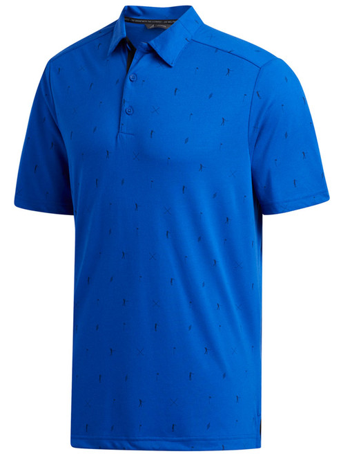 Adidas Adicross Drive Polo - Team Royal Blue