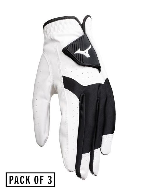 Mizuno Bioflex Golf Glove - 3 Pack White 2020