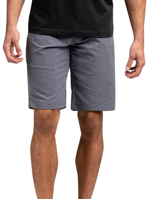 Travis Mathew Cross Check Short - Blue Nights