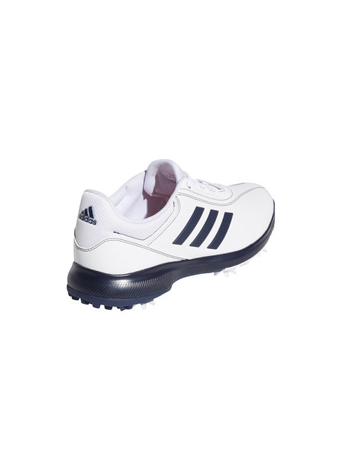 Adidas Traxion Lite Golf Shoes - FTWR White/Collegiate Navy