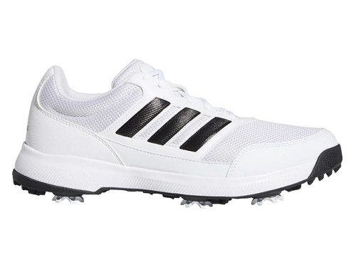Adidas Tech Response 2.0 Golf Shoes - Cloud White/Core Black