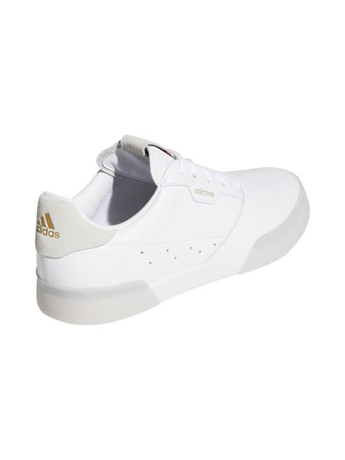 Adidas W Adicross Retro Golf Shoes - FTWR White/Gold Met./Crystal White