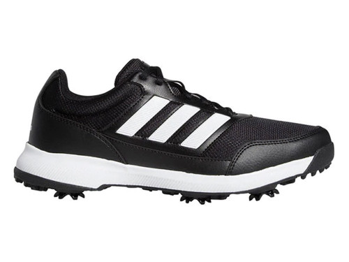 Adidas Tech Response 2.0 Golf Shoes - Core Black/Cloud White