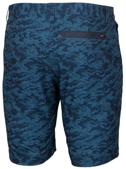 Cutter & Buck Bainbridge Sport Patterned Short - Navy Blue Camo