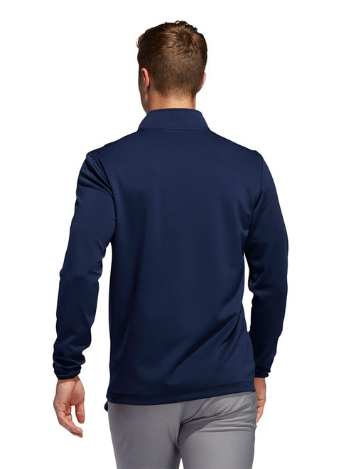 Adidas 3-Stripes Midweight Layering 1/4 Zip - Collegiate Navy/Grey Three