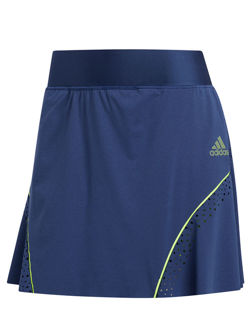 Adidas W Perforated Colour Pop Skort - Tech Indigo