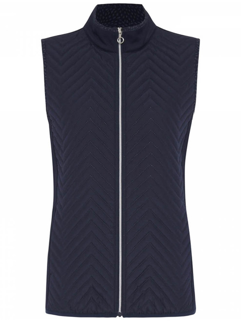 Sporte Leisure W Thermo-Tec Warm Debossed Vest - French Navy