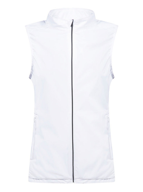 Cross W Wind Vest - White