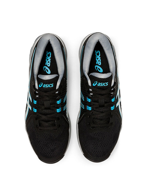 Asics Gel Course Glide Golf Shoes - Black/Blue/Silver