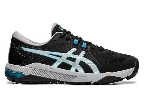 Asics Gel Course Glide Golf Shoes - Black/Blue/Silver