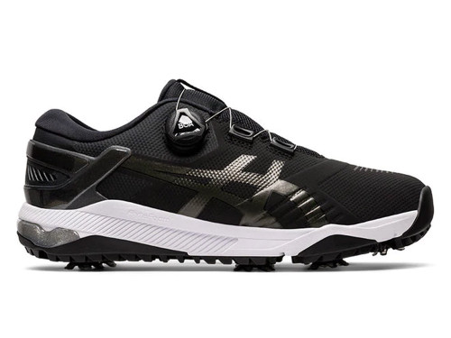 Asics Gel Course Duo BOA Golf Shoes - Black/Grey/White