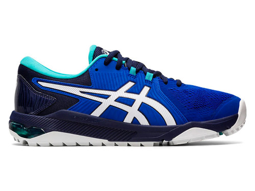 Asics Gel Course Glide Golf Shoes - Royal/White/Teal