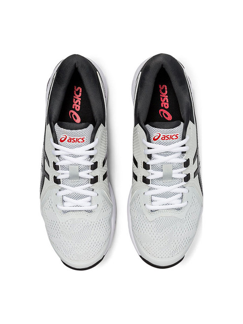 Asics Gel Course Glide Golf Shoes - Grey/Black/Red