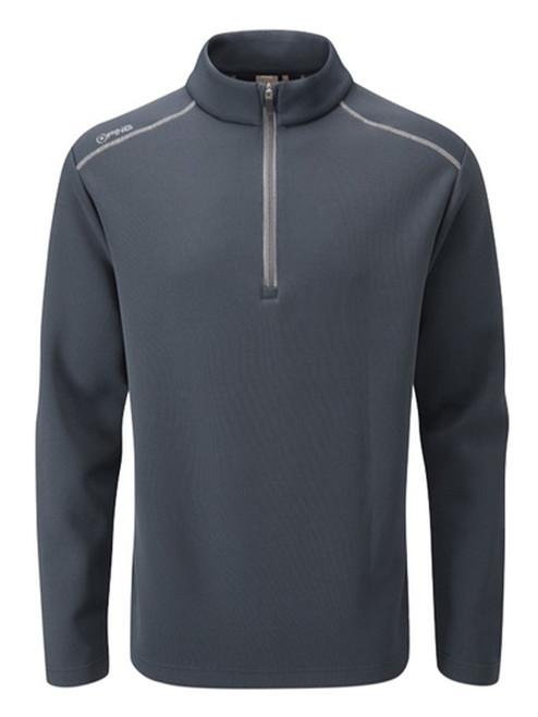 Ping Ramsey 1/2 Zip Ribbed Fleece - Navy