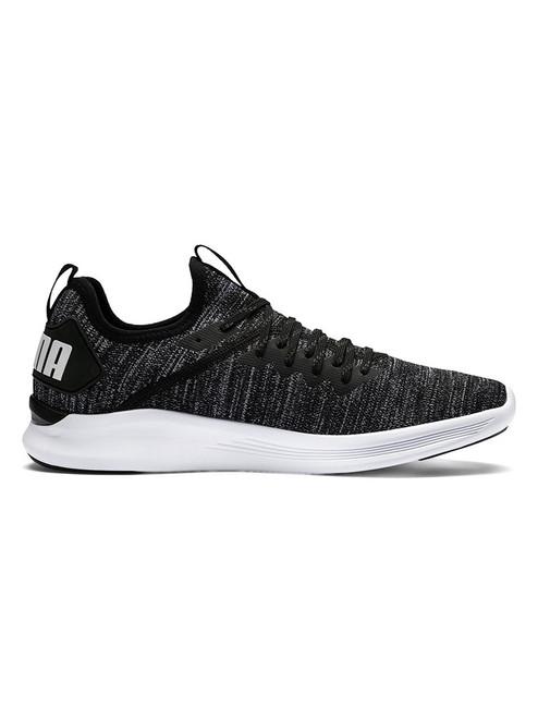 Puma Men's IGNITE Flash evoKNIT Training Shoes - Black/Asphalt/White