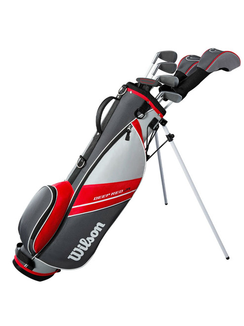 Wilson Deep Red Junior Package - Ages 11-14