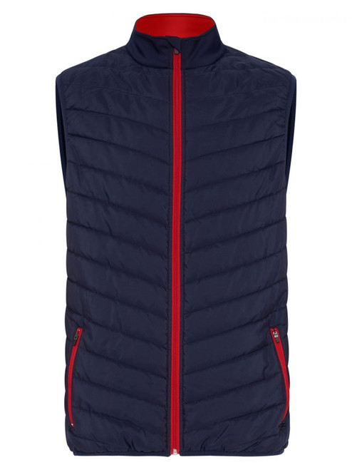 Sporte Leisure Thermo-Tec Debossed Puffer Vest - French Navy