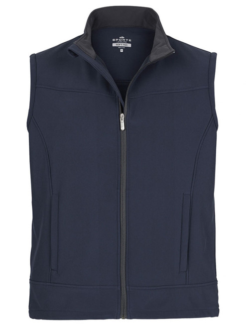 Sporte Leisure Alpine Mens Soft-Tec Vest - French Navy