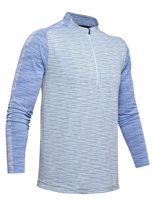 Under Armour Seamless 1/2 Zip - Moonstone Blue