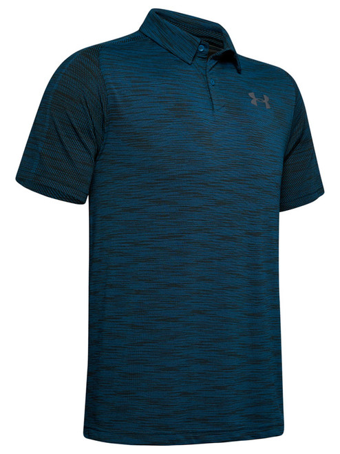 Under Armour Vanish Seamless Polo - Teal