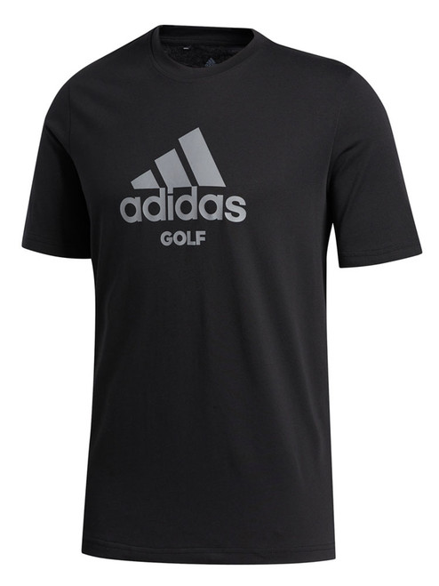 Adidas Badge Of Sport Golf Tee - Black