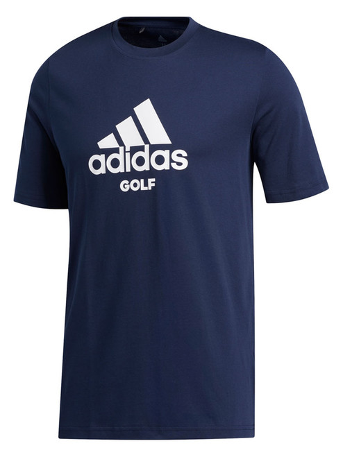 Adidas Badge Of Sport Golf Tee - Collegiate Navy
